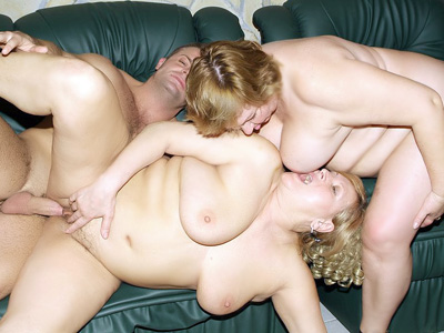 BBW Threesome Bang