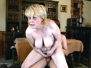 platinum blonde Plumper Rides Away