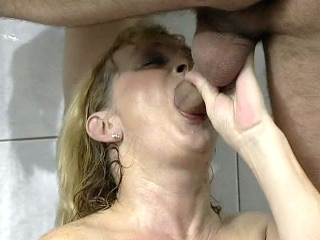 Mouth Fucked Mature BBW