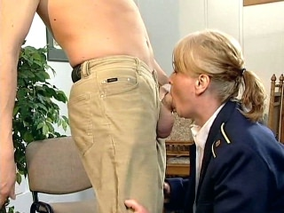 tired Stewardess Fucked