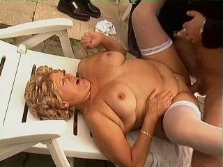 exhausted Blonde Gets Cock Ramming